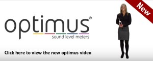 optimus sound level meter video
