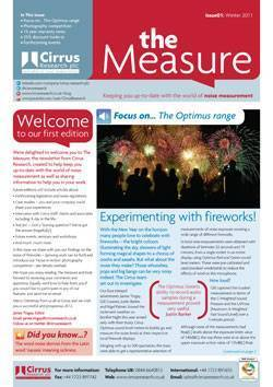 the Measure Issue 1 Winter 2012