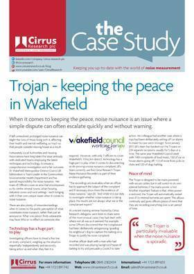 See how the Trojan2 is keeping the peace in Wakefield