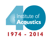 40 Years of the Institute of Acoustics