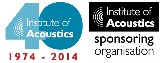 Celebrate the 40th Anniversary of the Institute of Acoustics