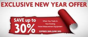 New Year Off - Save up to 30% when you trade in old intruments
