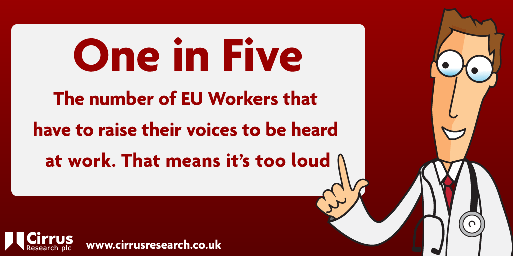 One in Five EU Workers affected by noise at work