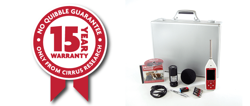 All Cirrus Research products come with a 15-Year Warranty
