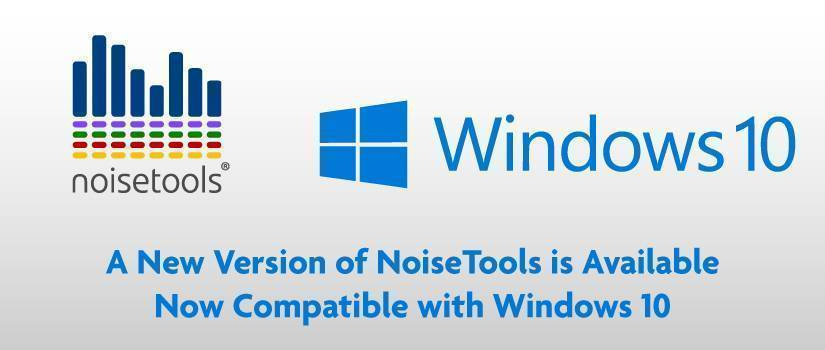 NoiseTools is Now Compatible with Windows 10