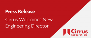 Cirrus Welcomes New Engineering Director