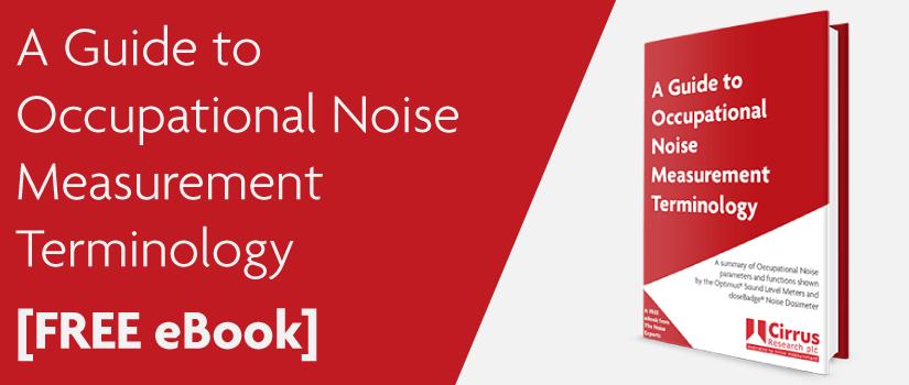 noise terminology glossary