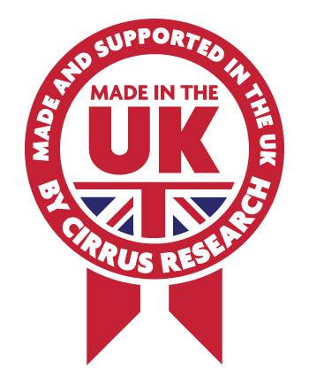 Made and Supported in the UK by Cirrus Research