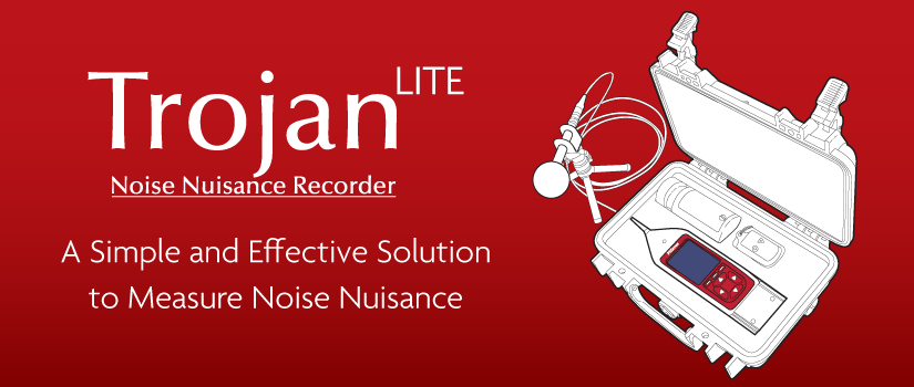 Cirrus Launches New TrojanLITE Noise Nuisance Recorder