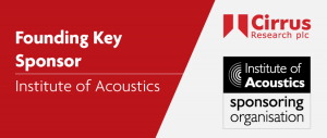 Cirrus is a founding sponsor of the Institute of Acoustics