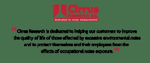Cirrus Research plc Mission Statement