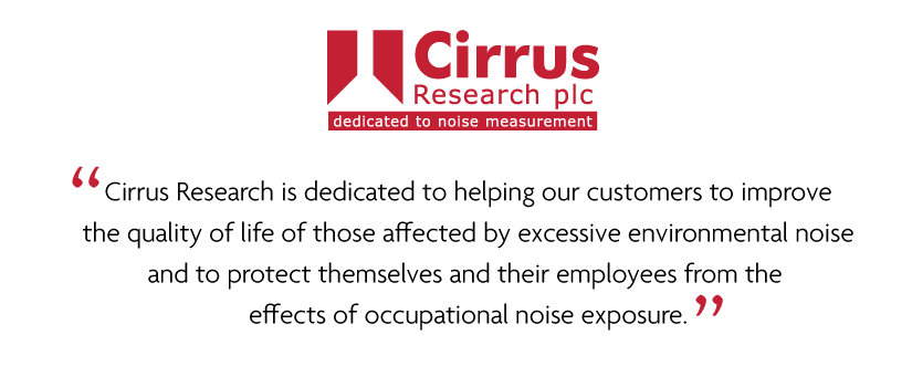 Cirrus Research plc Mission Statement