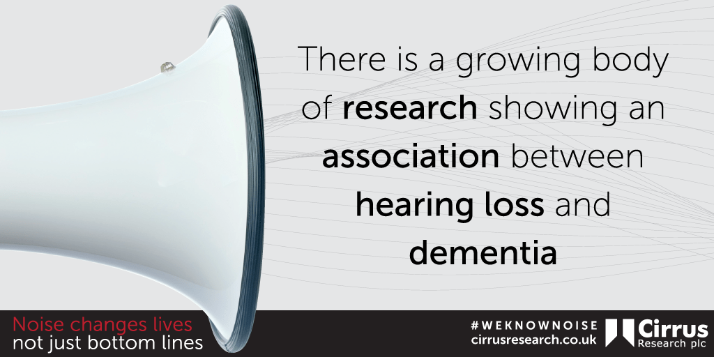Noise Changes Lives Link to Dementia