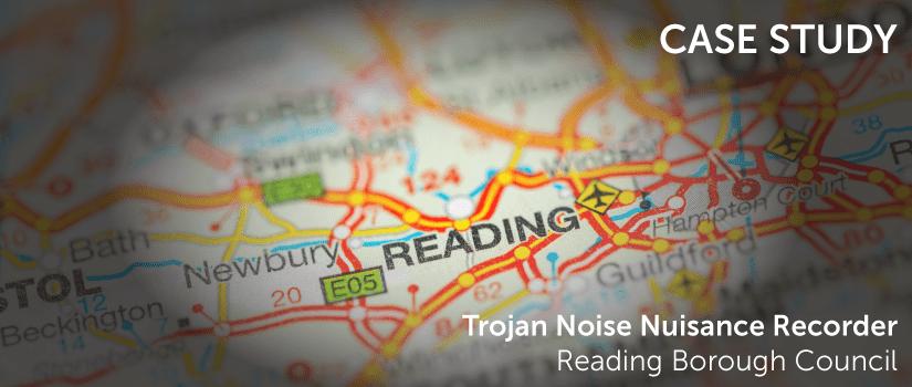 a map of reading, berkshire, united kingdom