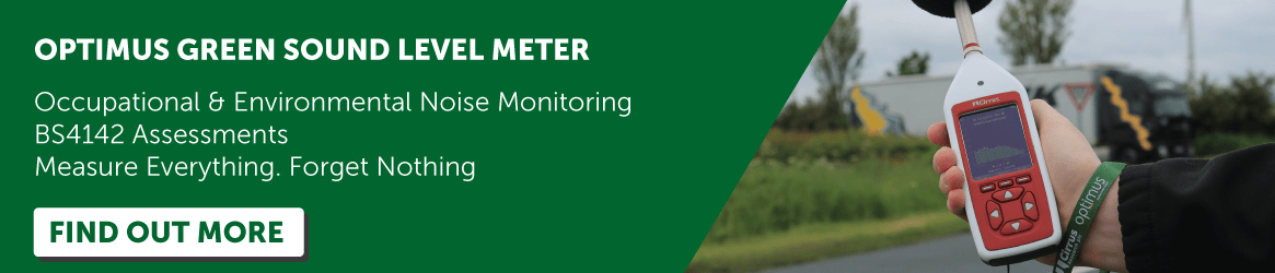 find out more about Optimus Green Sound Level Meter