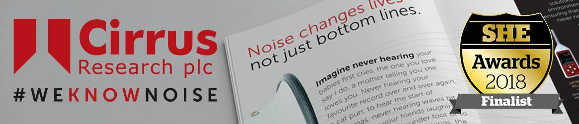 Noise Changes Lives Campaign - SHE Excellence Award Nomination