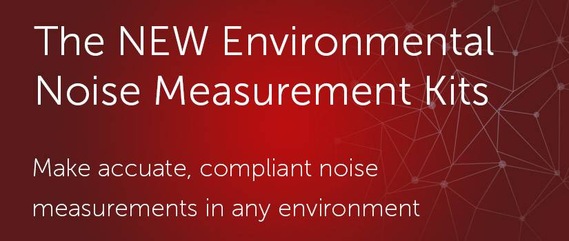 The NEW Environmental Noise Measurement Kits for the Optimus Sound Level Meters