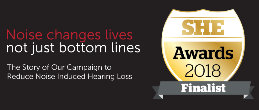 The Story of Our Campaign to Reduce Noise Induced Hearing Loss