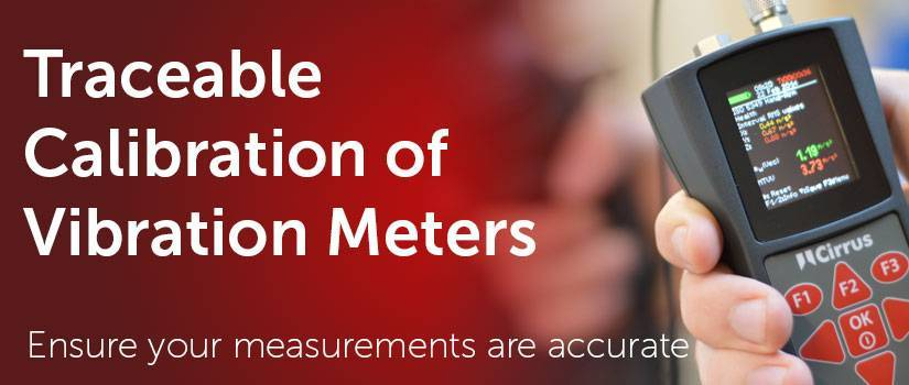 Traceable calibration of vibration meters