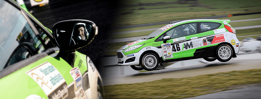 An image showing rally driver Ashleigh Morris