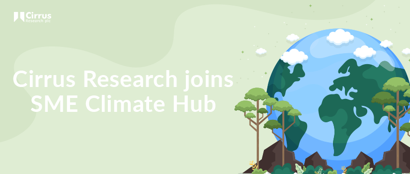 An image of Cirrus Research joining the SME Climate Hub