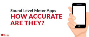 An image of sound level meter apps how accurate are they?