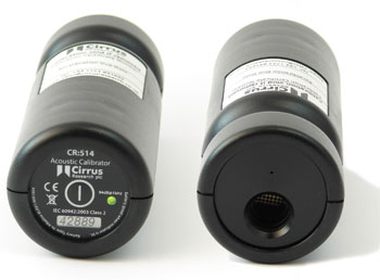 CR:515 and CR:514 Acoustic Calibrators