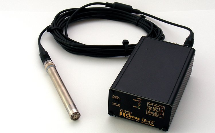 ZE:908 Acoustic Interface with Ac, DC & 4-20mA Outputs