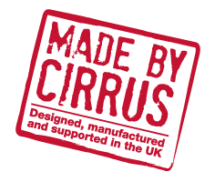 Made in the UK by Cirrus
