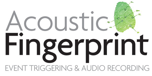 Acoustic Fingerprint™ Triggering & Audio Recording