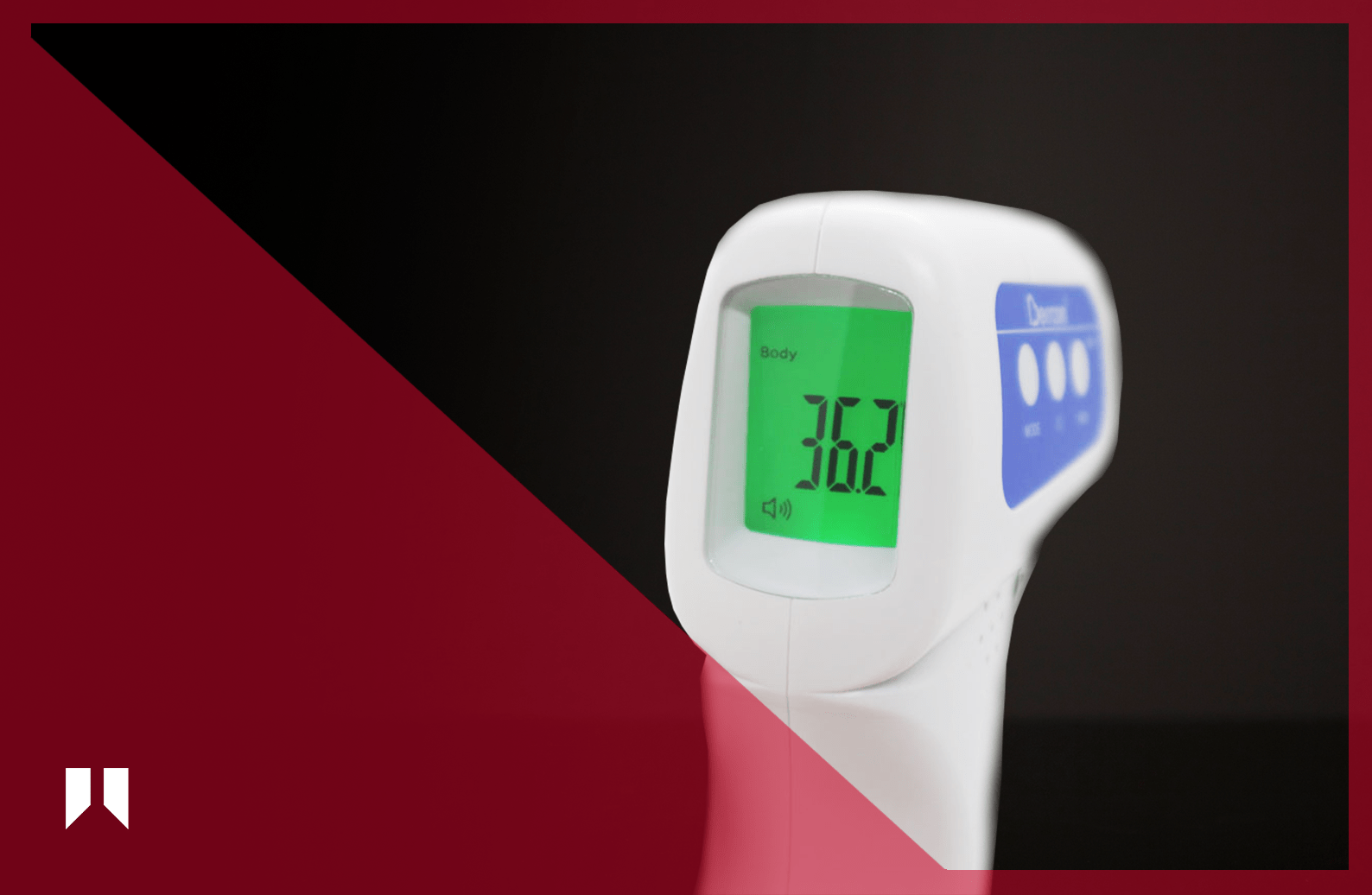 JXB-178 handheld non-contact infrared forehead thermometer