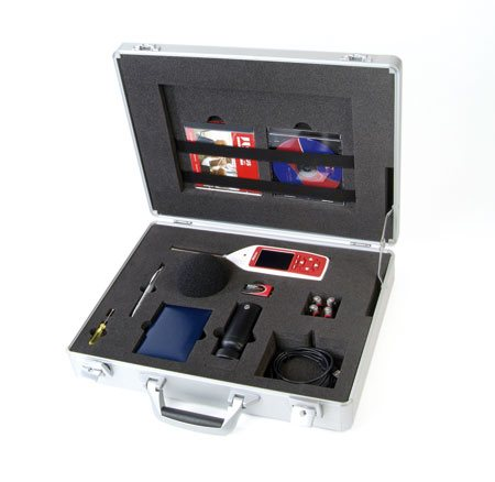 Sound Level Meter with Calibrator Measurement Kits