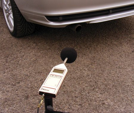 Vehicle Noise Measurement Kit