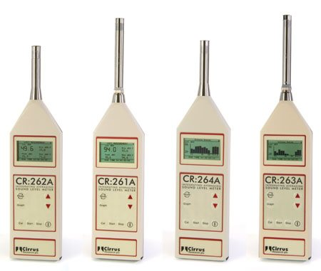 CR:260A Series Sound Level Meters