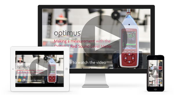 The Optimus Red Sound Level Meters