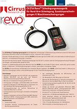 CV:31A Revo Vibration Meter (DE)