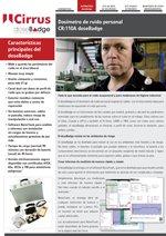 Dosímetro de ruido personal CR:110A doseBadge (ES)