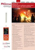 Sonómetros Optimus Red (ES)