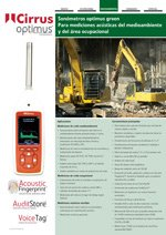 Sonómetros Optimus Green (ES)