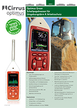 Optimus Green Sound Level Meters (DE)